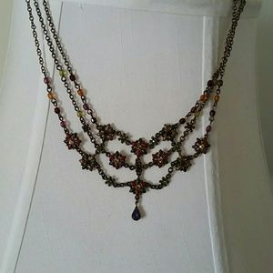 Sweet Romance Victorian Style Necklaces (2)